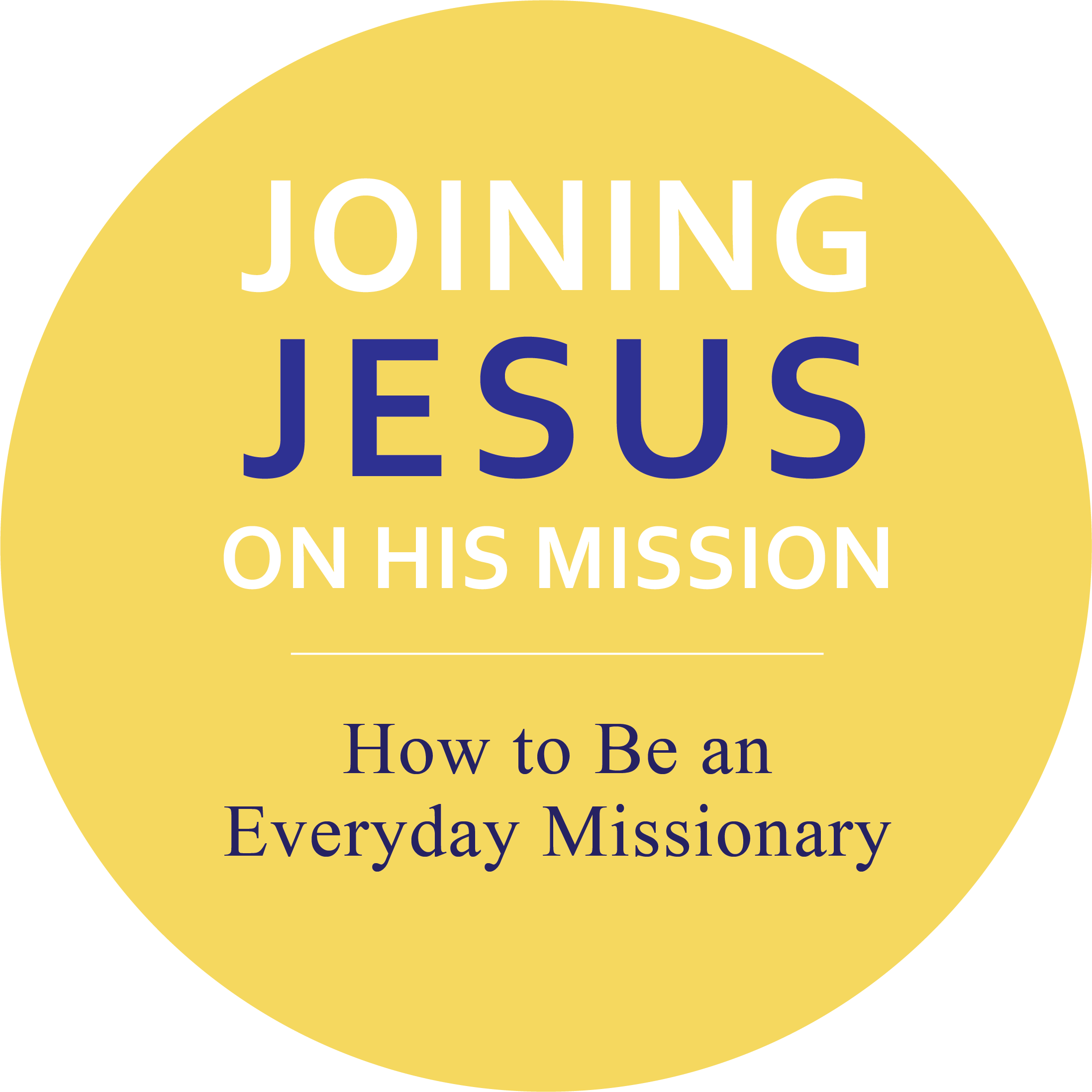 Joining Jesus